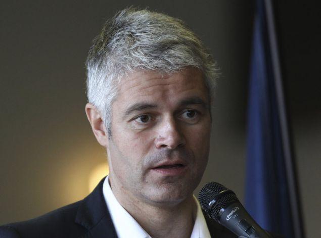 O επικεφαλής της γαλλικής Δεξιάς, Λωράν Βοκιέ (Φωτογραφία: ΑΡ)