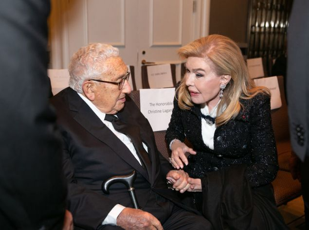 Μαριάννα Β. Βαρδινογιάννη, Henry Kissinger