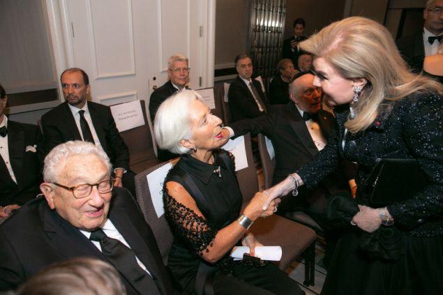 Henry Kissinger, Μαριάννα Β. Βαρδινογιάννη, Christine Lagarde