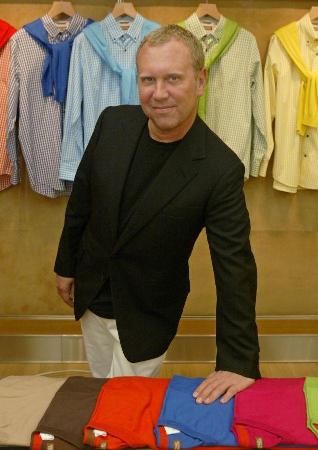 Ο σχεδιαστής στο showroom του στη Νέα Υόρκη