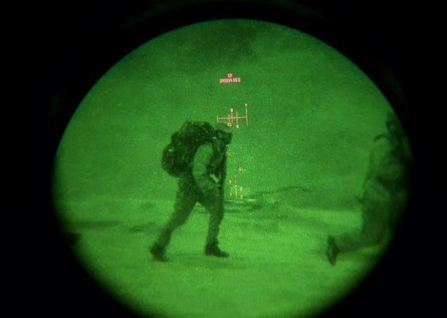 Ετσι βλέπουν τους εχθρούς μέσω νυχτερινής όρασης