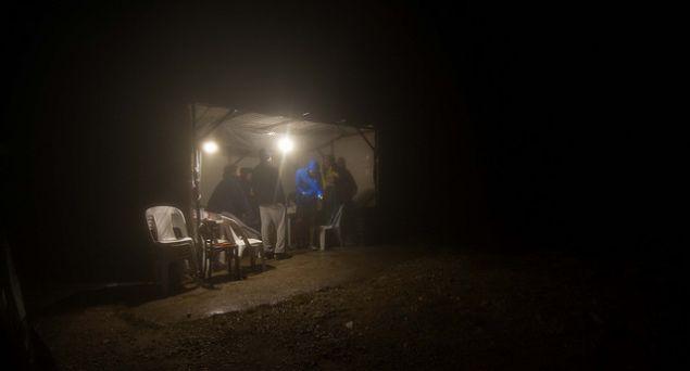 Το καταφύγιο στην κορυφή στο Αρτεμίσιο. Φωτογραφία: Sparta Photography Club