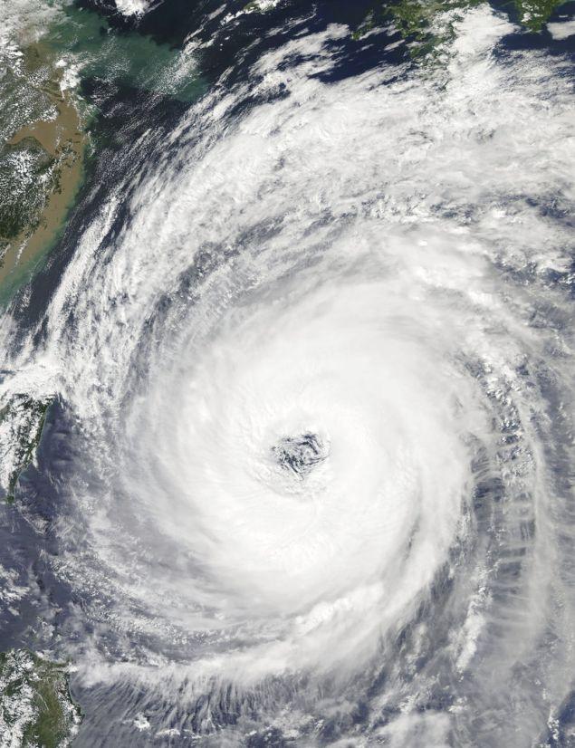 Τυφώνας στην Ιαπωνία