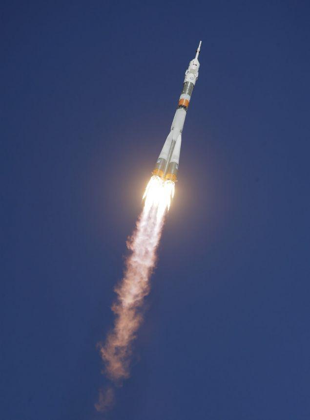 Η βλάβη στον προωθητικό πύραυλο παρουσιάστηκε λίγο μετά την εκτόξευση (Φωτογραφία: ΑΡ)