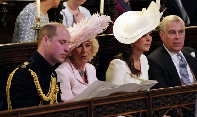 Η δούκισσα της Κορνουάλης, Καμίλα, παραβρέθηκε στον γάμο του πρίγκιπα Χάρι