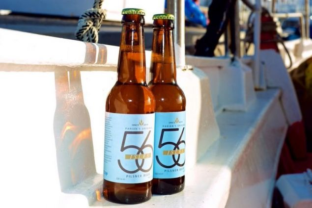 Η «56 Isles Aegean Wit» από την Πάρο αναδείχτηκε σε μια από τις έξι καλύτερες μπύρες του κόσμου
