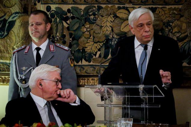 Ο ΠτΔ στην προσφώνηση του στο επίσημο δείπνο για τον Πρόεδρο της Γερμανίας
