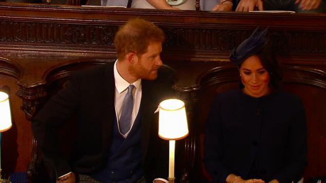 Η Μέγκαν επέλεξε όπως και στον γάμο της, να φορέσει ρούχα του οίκου Givenchy