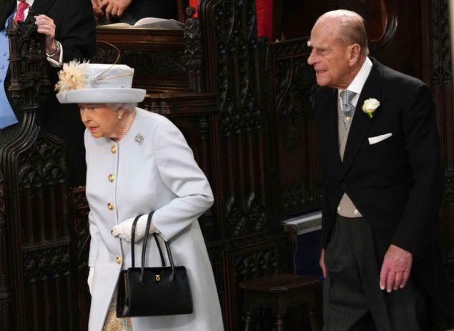 Η βασίλισσα ΕΛισάβετ με τον πρίγκιπα Φίλιππο