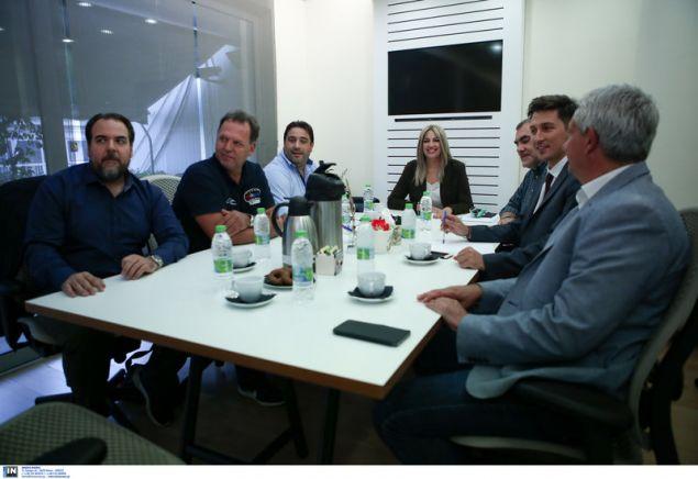 Συνάντηση της Φώφης Γεννηματά με την Ενωση Εργαζομένων ΕΡΤ -Φωτογραφία: Intimenews/ΚΑΠΑΝΤΑΗΣ ΔΗΜΗΤΡΗΣ
