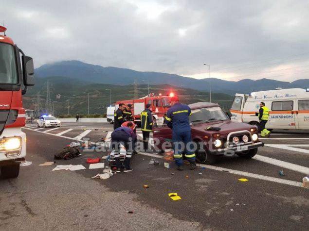 Η Τροχαία αυτοκινητοδρόμων ερευνά τα αίτια του δυστυχήματος