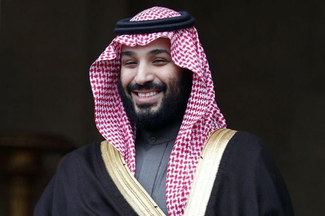 Ο πρίγκιπας διάδοχος του θρόνου της Σαουδικής Αραβίας, Μοχάμεντ Μπιν Σαλμάν (Φωτογραφία: ΑΡ)