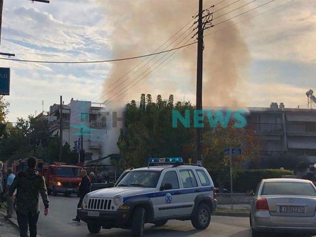 Πυρκαγιά σε κατάστημα στην Περαία