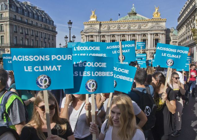 Διαδήλωση για την κλιματική αλλαγή