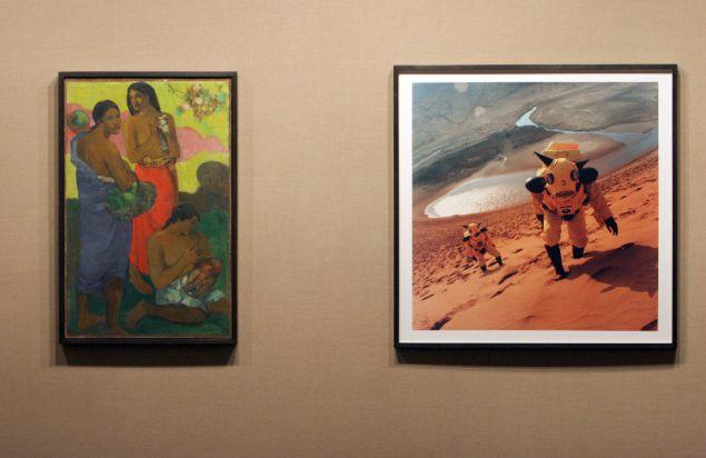 Είχε επίσης, μια σπάνια συλλογή έργων τέχνης