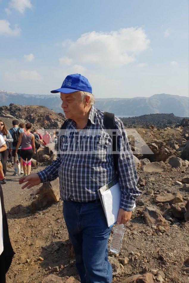 Ο καθηγητής Γεωλογίας του ΑΠΘ Σπύρος Παυλίδης