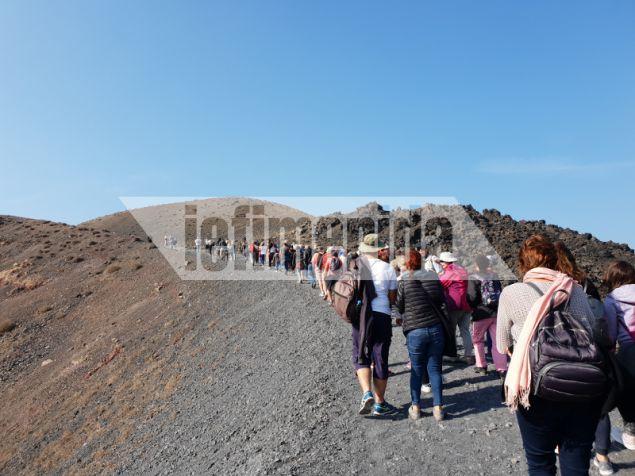 Το 2011-2012 το ηφαίστειο της Σαντορίνης έφτασε πολύ κοντά στην έκρηξη