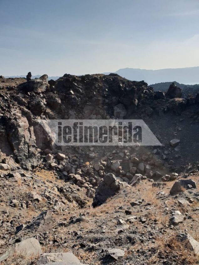 Το ηφαίστειο της Σαντορίνης είναι ενεργό και οι επιστήμονες περιμένουν πότε θα έχει δραστηριότητα