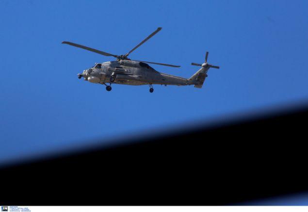 Και ελικόπτερα στην πρόβα για την παρέλαση- φωτογραφία intimenews