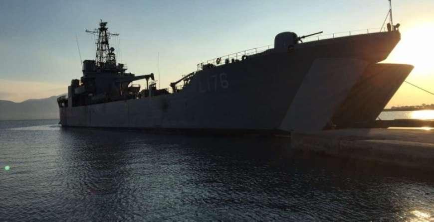 Το αρματαγωγό «Λέσβος» θα υποδεχθεί τους πολίτες