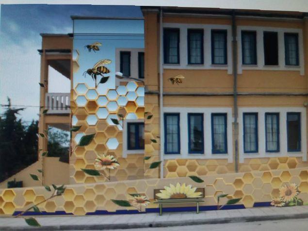Από τα πιο όμορφα, αν όχι το ομορφότερο, είναι αυτό το Δημοτικό Σχολείο στην Αλεξανδρούπολη το οποίο μοιάζει με... κυψέλη.