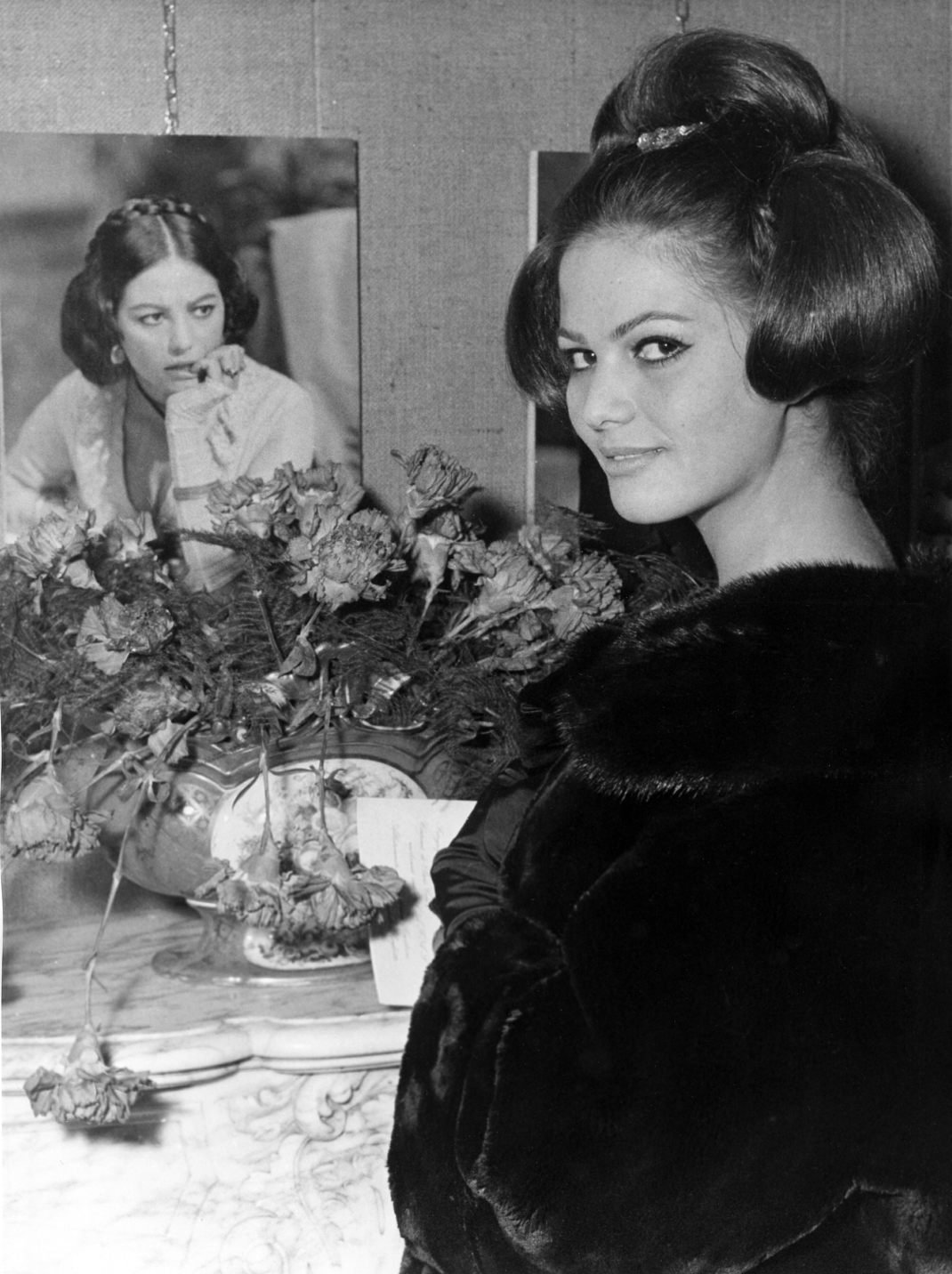H Κλαούντια Καρντινάλε στα γυρίσματα της ταινίας «The Leopard», 1963/ Φωτογραφία: AP Images