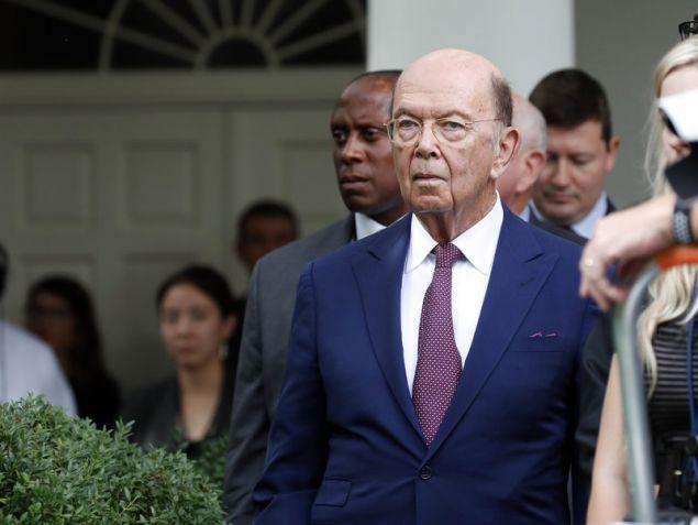 Ο υπουργός Εμπορίου των ΗΠΑ, Γουίλμπουρ Ρος (Φωτογραφία: ΑΡ)