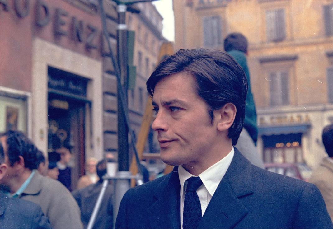 O Aλέν Ντελόν. Φωτογραφία: AP