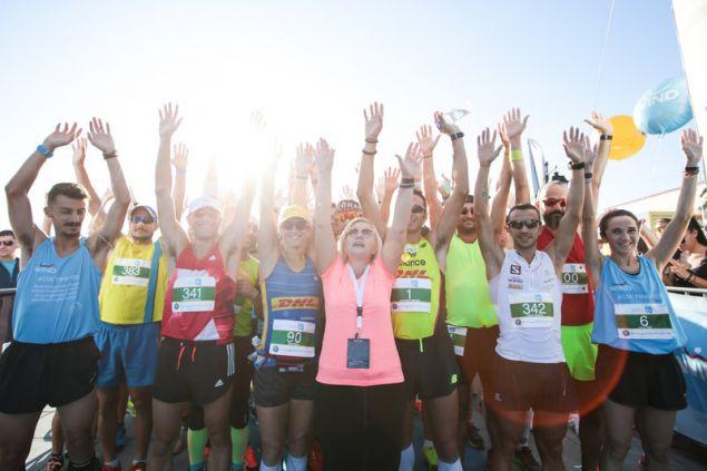 Αποψη του Spetses mini Marathon