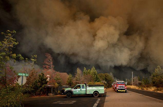 Η Καλιφόρνια έχει ήδη βιώσει μια από τις χειρότερες χρονιές της ιστορίας της σε ό,τι αφορά τις δασικές πυρκαγιές.