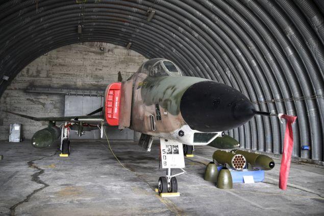 Μαχητικό αεροσκάφος στην έκθεση