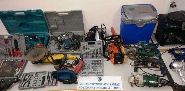 Συνελήφθη, στο Μαρκόπουλο ένας Αλβανός, κατηγορούμενος για διαρρήξεις και κλοπές σε εξοχικές κατοικίες στο Πόρτο Ράφτη.