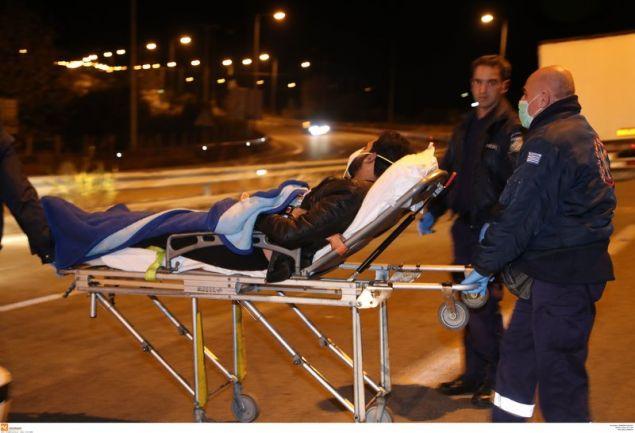 Δύο άνθρωποι τραυματίστηκαν σοβαρά