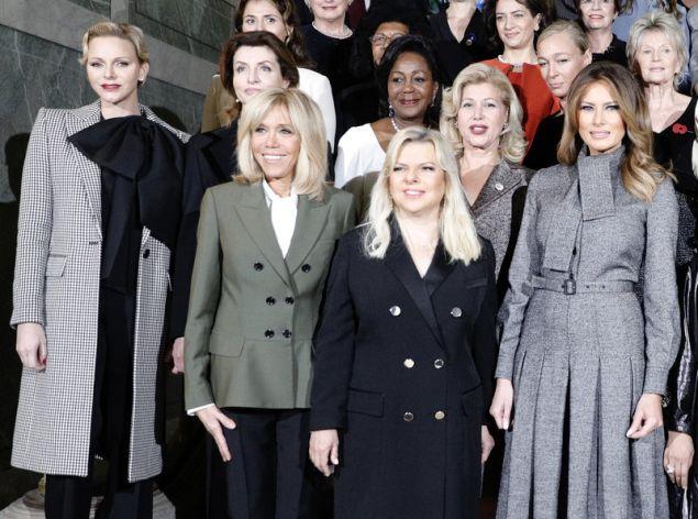 Οι Πρώτες Κυρίες γευμάτισαν στις Βερσαλλίες