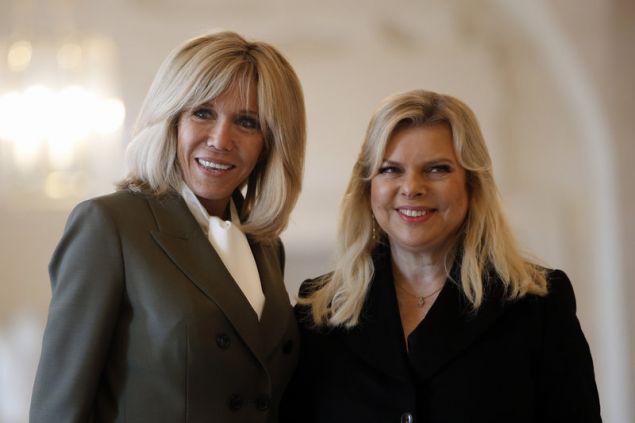 Με τη σλυζυγο του πρωθυπουργού του Ισραήλ
