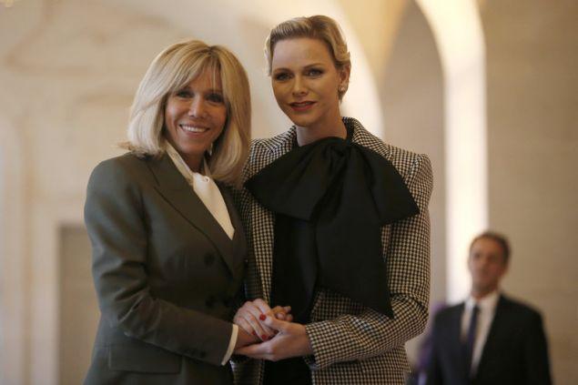 Με την πριγκίπισσα Σαρλίν του Μονακό