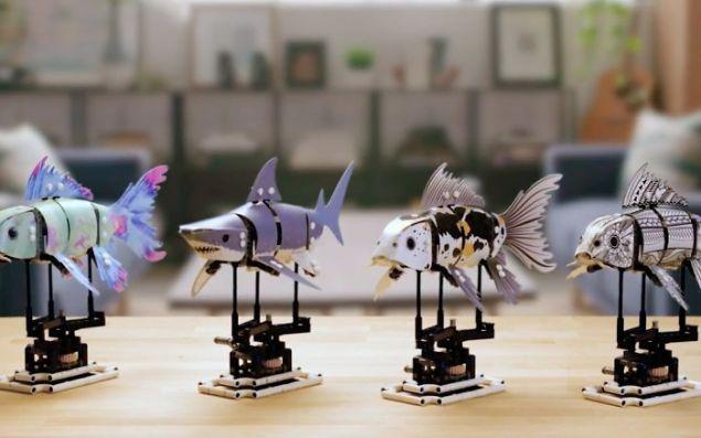 Πρόκειται για ένα μοντέλο ψαριού που αποτελείται από 294 κομμάτια