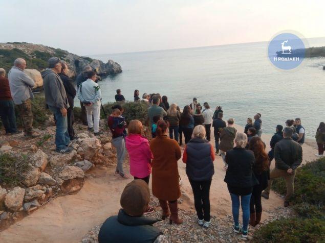 Κάτοικοι της Ρόδου βρέθηκαν στην παραλία της φρίκης