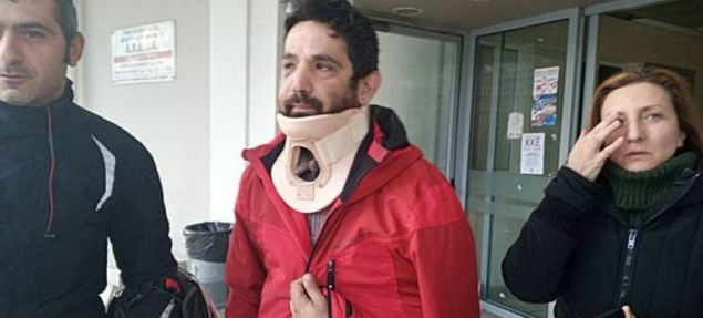 Ο 36χρονος ντελιβεράς που χτυπήθηκε από το πρώην αφεντικό του / Φωτογραφία: seleo.gr