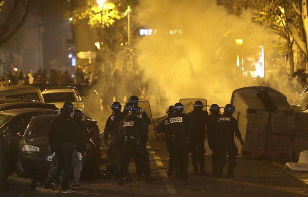Οι Αρχές θέλουν να αποτρέψουν μια επανάληψη των βίαιων επεισοδίων του περασμένου Σαββάτου (Φωτογραφίες: ΑΡ)
