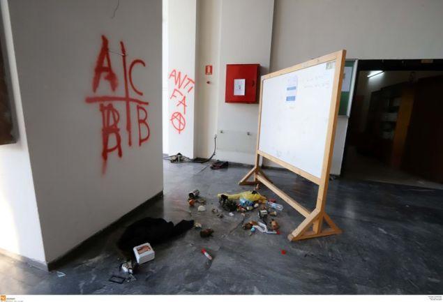 Τη Σχολή καθάρισαν οι φοιτητές
