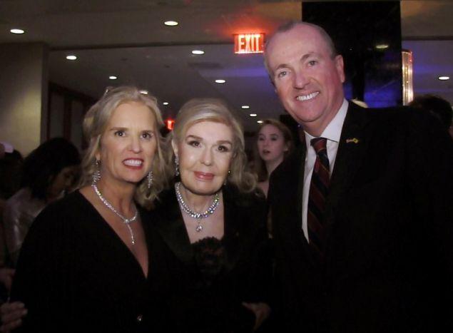 Kerry Kennedy - Mαριάννα Β. Βαρδινογιάννη – Phil Murphy, Κυβερνήτης του  New Jersey