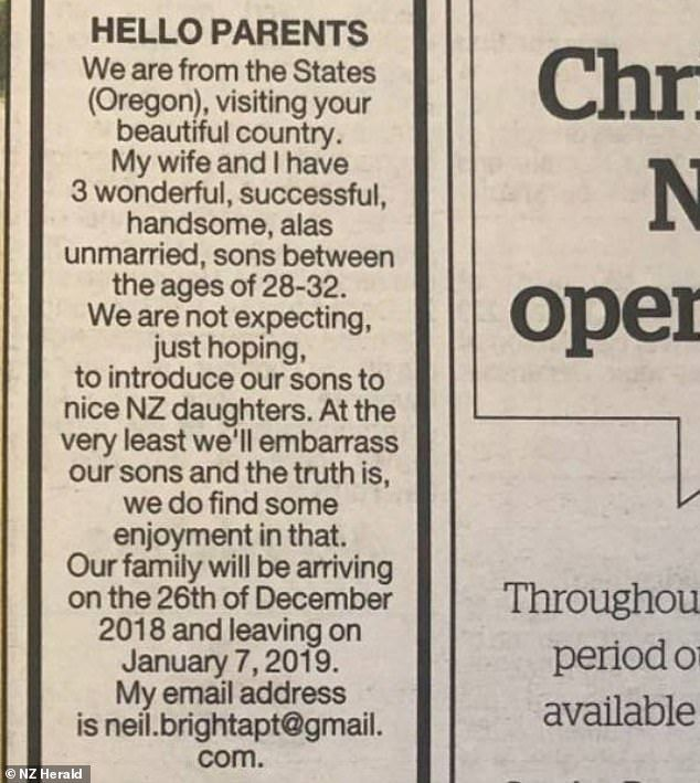 Η viral αγγελία στην εφημερίδα