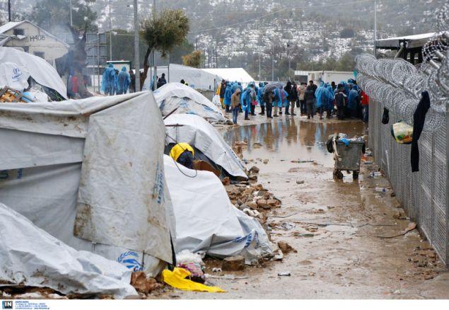 Λέσβος, το «νησί - φυλακή» κατά το Der Spiegel / Φωτογραφία: InTime News