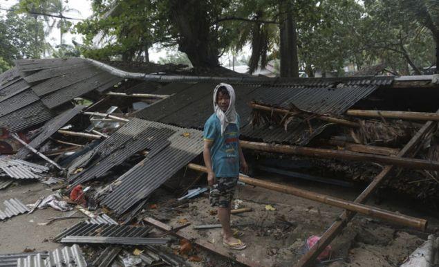 Εκατοντάδες σπίτια καταστράφηκαν