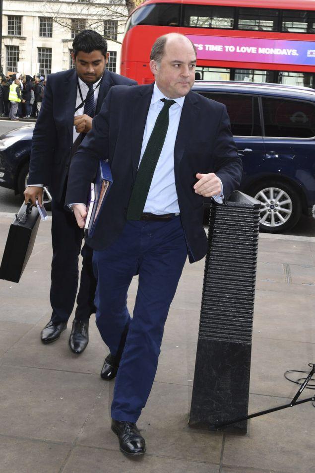 Ο Βρετανός υπουργός Ασφάλειας, Μπεν Γουάλας (Φωτογραφία: ΑΡ)