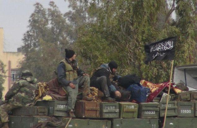 H Aλ Κάιντα δραστηριοποιείται σε χώρες της Μέσης Ανατολής  με πολλά παρακλάδια της, όπως το Μέτωπο Νούσρα ( Jabhat al-Nusra) στη Συρία (Φωτογραφία αρχείου: ΑΡ)