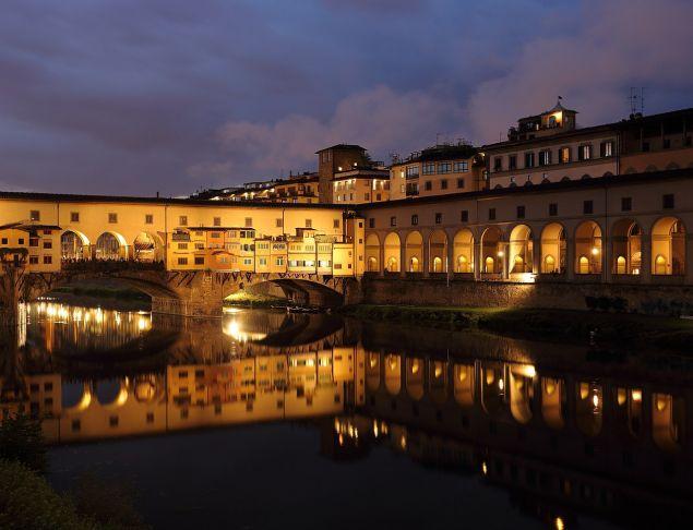 To ιστορικό γιοφύρι Ponte Vecchio