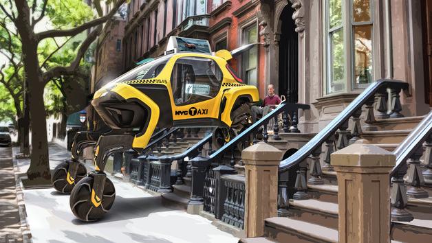 Το Elevate θα μπορεί, όπως λέει η Hyundai, να εξυπηρετεί ως ταξί και πελάτες με αναπηρικά αμαξίδια (Φωτογραφία: Hyundai)