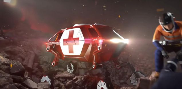 To Elevate θα μπορεί να φθάνει σε ζώνες καταστροφών για να παραλαμβάνει τραυματίες, λέει η Hyundai